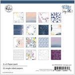Pinkfresh Studio - Indigo Hills 2 Collection - 6 x 6 Paper Pack