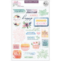 Pinkfresh Studio - Just A Little Lovely Collection - Puffy Stickers