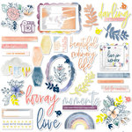 Pinkfresh Studio - Indigo Hills 2 Collection - Ephemera Pack