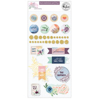 Pinkfresh Studio - Just A Little Lovely Collection - Stickers - Mixed Embellishment Pack