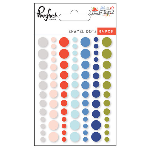 Pinkfresh Studio - December Days Enamel Dots