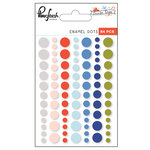 Pinkfresh Studio - December Days Collection - Christmas - Enamel Dots