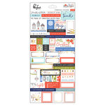 Pinkfresh Studio - December Days Collection - Christmas - Cardstock Stickers with Foil Accents