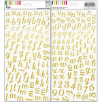 Pinkfresh Studio - The Mix No 1 Collection - Foil Stickers - Alpha