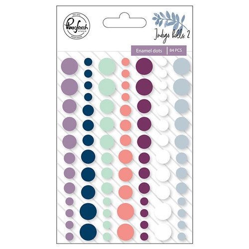 Pinkfresh Studio - Indigo Hills 2 Collection - Enamel Dots