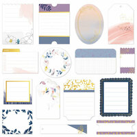 Pinkfresh Studio - Indigo Hills 2 Collection - Journaling Spots with Foil Accents