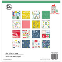 Pinkfresh Studio - Christmas - Home for the Holidays Collection - 12 x 12 Paper Pack