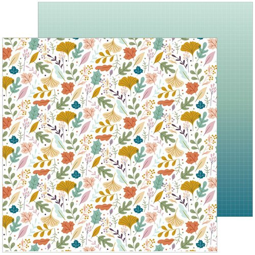 Pinkfresh Studio - Days of Splendor Collection - 12 x 12 Double Sided Paper - Simply Magical