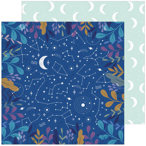 Pinkfresh Studio - Days of Splendor Collection - 12 x 12 Double Sided Paper - Like A Dream