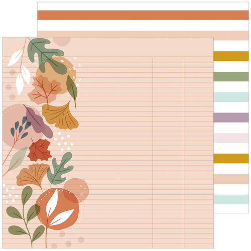Pinkfresh Studio - Days of Splendor Collection - 12 x 12 Double Sided Paper - Fall In Love