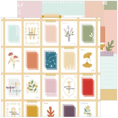Pinkfresh Studio - Days of Splendor Collection - 12 x 12 Double Sided Paper - Totally Splendid