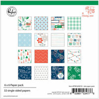 Pinkfresh Studio - Holiday Vibes Collection - Christmas - 6 x 6 Paper Pack