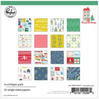 Pinkfresh Studio - Christmas - Home for the Holidays Collection - 6 x 6 Paper Pack