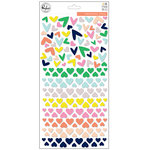 Pinkfresh Studio - The Mix No 2 Collection - Puffy Stickers - Hearts