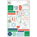 Pinkfresh Studio - Holiday Vibes Collection - Christmas - Puffy Stickers