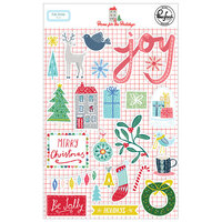 Pinkfresh Studio - Christmas - Home for the Holidays Collection - Puffy Stickers