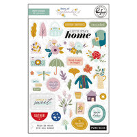 Pinkfresh Studio - Days of Splendor Collection - Puffy Stickers