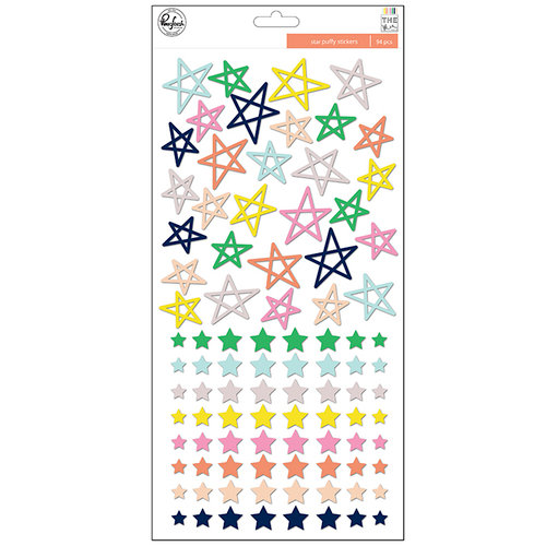 Pinkfresh Studio - The Mix No 2 Collection - Puffy Stickers - Stars