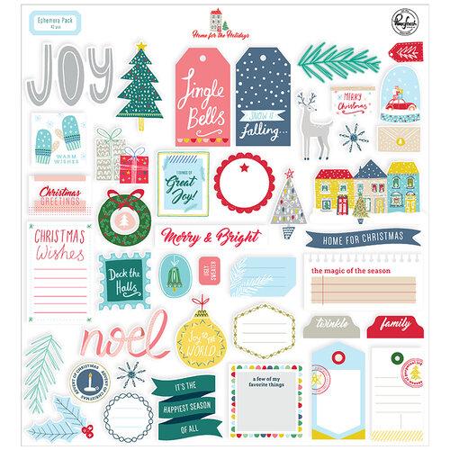 Pinkfresh Studio - Christmas - Home for the Holidays Collection - Ephemera Pack