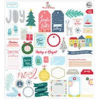 Pinkfresh Studio - Christmas - Home for the Holidays Collection - Ephemera Pack