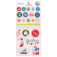 Pinkfresh Studio - Christmas - Home for the Holidays Collection - Mixed Embellishments Pack