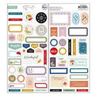 Pinkfresh Studio - Days of Splendor Collection - Cardstock Stickers