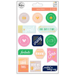 Pinkfresh Studio - The Mix No 2 Collection - Epoxy Stickers