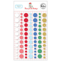 Pinkfresh Studio - Christmas - Home for the Holidays Collection - Enamel Dots
