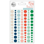 Pinkfresh Studio - Holiday Vibes Collection - Christmas - Enamel Dots