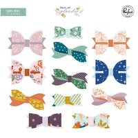 Pinkfresh Studio - Days of Splendor Collection - Embellishments - Fabric Bows