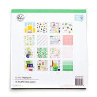Pinkfresh Studio - Super Cool Collection - 12 X 12 Collection Paper Pack
