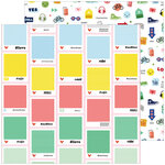 Pinkfresh Studio - Super Cool Collection - 12 X 12 Double Sided Paper - Hashtag