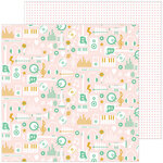 Pinkfresh Studio - Super Cool Collection - 12 X 12 Double Sided Paper - Choir