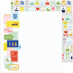 Pinkfresh Studio - Super Cool Collection - 12 X 12 Double Sided Paper - Fun Times