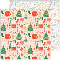 Pinkfresh Studio - Oh What Fun Collection - 12 x 12 Double Sided Paper - Season Of Joy