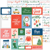 Pinkfresh Studio - Oh What Fun Collection - 12 x 12 Double Sided Paper - Good Tidings
