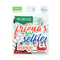 Pinkfresh Studio - Super Cool Collection - Ephemera Pack