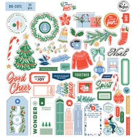 Pinkfresh Studio - Oh What Fun Collection - Ephemera Pack