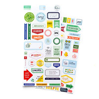Pinkfresh Studio - Super Cool Collection - Cardstock Stickers