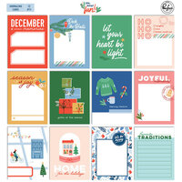Pinkfresh Studio - Oh What Fun Collection - Journaling Cards