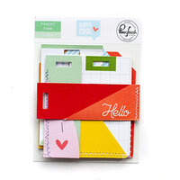 Pinkfresh Studio - Super Cool Collection - Stitched Pocket Tags