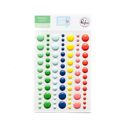 Pinkfresh Studio - Super Cool Collection - Self Adhesive Enamel Dots