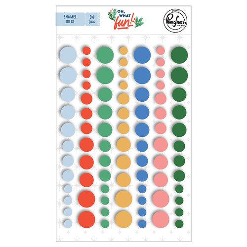 Pinkfresh Studio - Oh What Fun Collection - Self Adhesive Enamel Dots