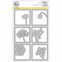 Pinkfresh Studio - Dies - Floral Squares