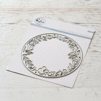 Pinkfresh Studio - Dies - Circle Frame with Botanicals
