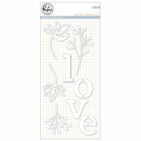 Pinkfresh Studio - Dies - Love with Botanicals