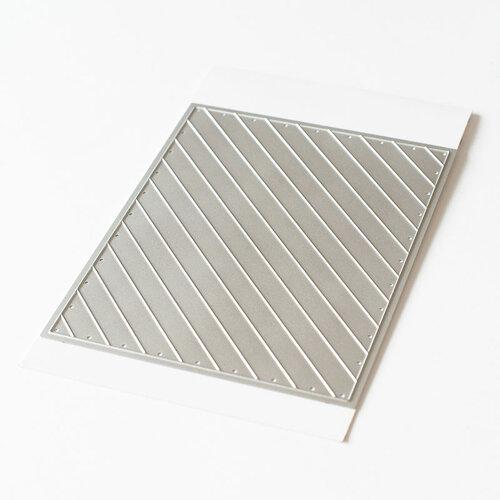 Pinkfresh Studio - Dies - Color Block Diagonal Stripes