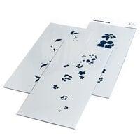 Pinkfresh Studio - Layering Stencils - Slimline - Floral Notes