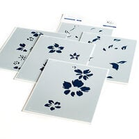 Pinkfresh Studio - Layered Stencils - Seamless Floral Panel
