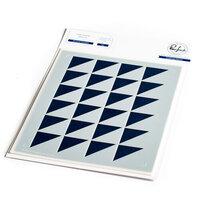 Pinkfresh Studio - Stencils - Mirrored Triangles